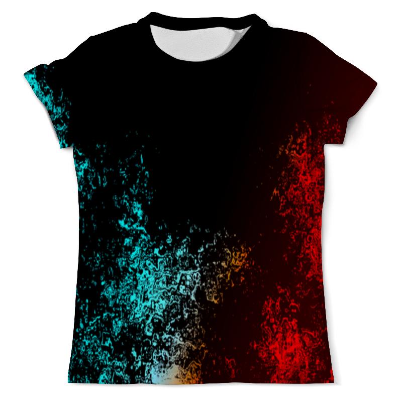 Футболка с полной запечаткой (мужская) Printio Битва красок футболка с полной запечаткой мужская printio буря красок