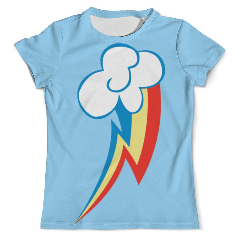 Футболка с полной запечаткой (мужская) Printio Rainbow dash / рейнбоу дэш футболка стрэйч printio rainbow dash рейнбоу дэш
