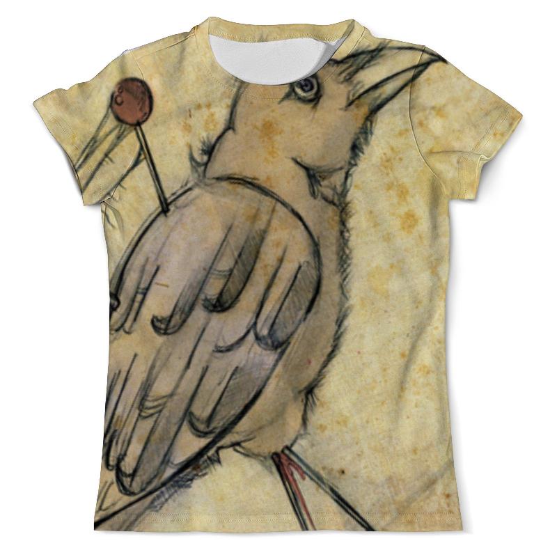 Футболка с полной запечаткой (мужская) Printio Птица вязачъ футболка с полной запечаткой мужская printio птица жар птица
