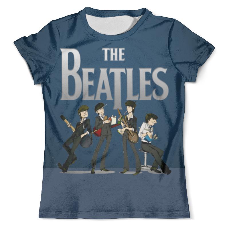 Футболка с полной запечаткой (мужская) Printio The beatles футболка с полной запечаткой для девочек printio john lennon the beatles