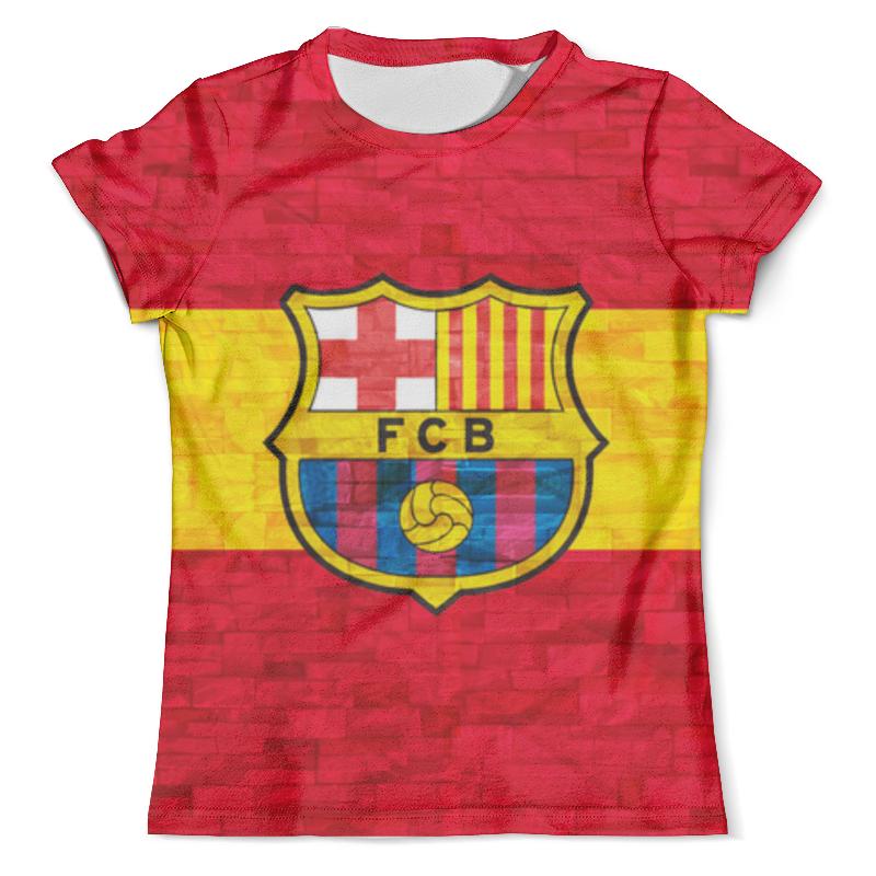 Футболка с полной запечаткой (мужская) Printio Барселона (барса) футболка барселона в саратове