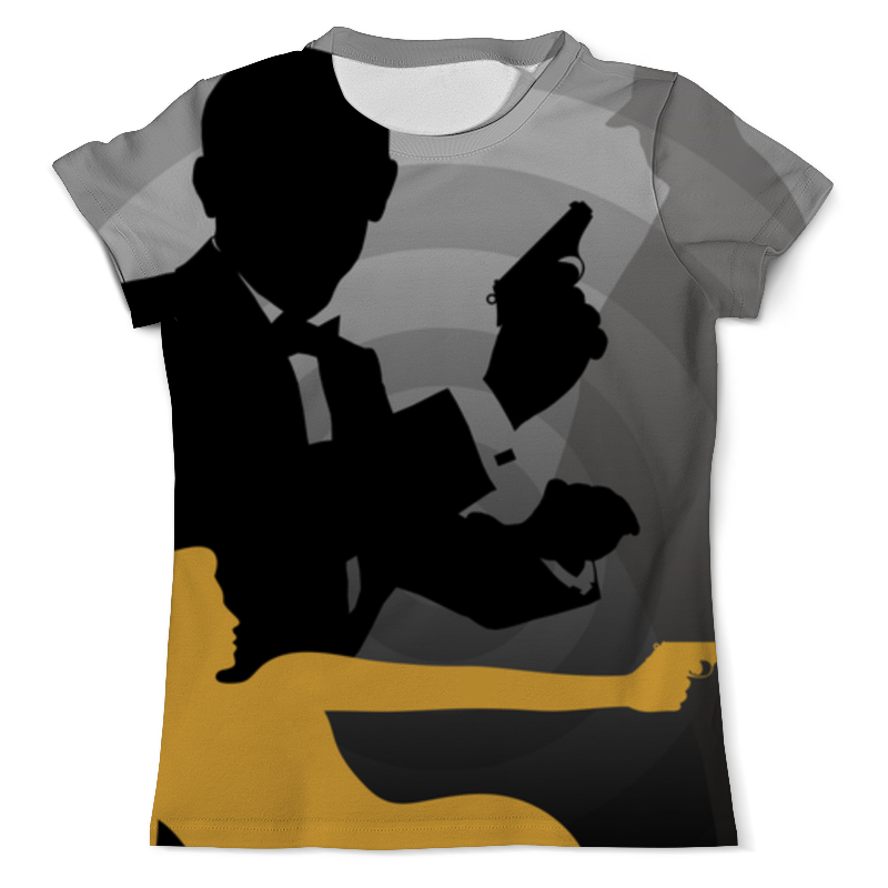 Printio Джеймс бонд футболка с полной запечаткой мужская printio 007 джеймс бонд