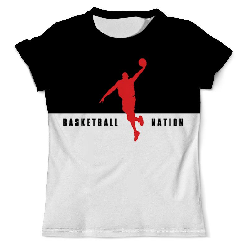 Футболка с полной запечаткой (мужская) Printio Basketball nation