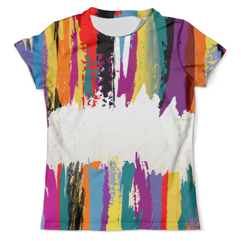 Футболка с полной запечаткой (мужская) Printio Краски футболка с полной запечаткой мужская printio overlord
