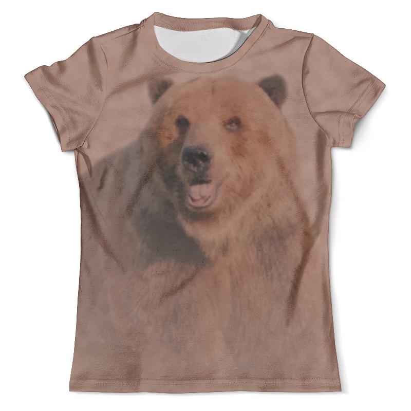 Футболка с полной запечаткой (мужская) Printio Медведь футболка с полной запечаткой мужская printio фрактальная эзотерика мандалы