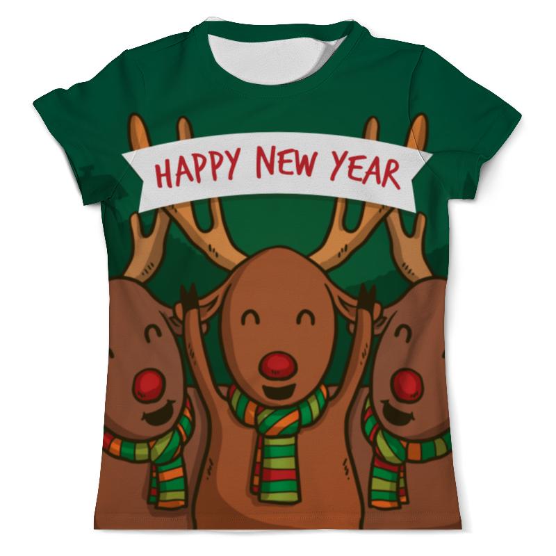 Футболка с полной запечаткой (мужская) Printio Happy new year 2016! футболка с полной запечаткой мужская printio dtm 2016 mattias ekstrom