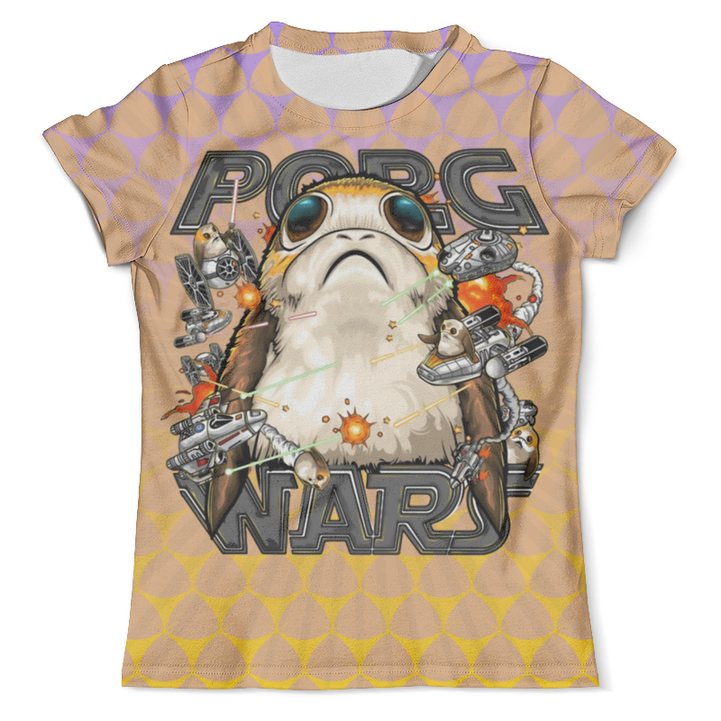 Printio Porg a star wars story_ футболка мужская rhs star wars цвет ментоловый 42962 размер xxl 54