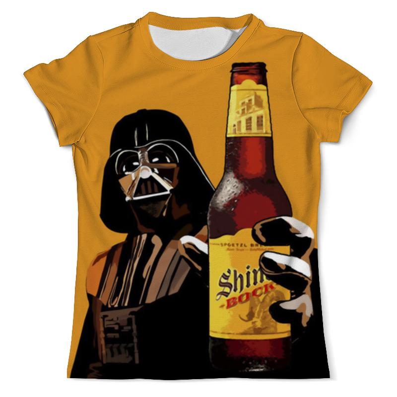 Printio Beer vader (star wars) футболка классическая printio dark beer star wars