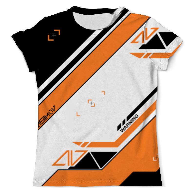 Футболка с полной запечаткой (мужская) Printio Cs:go - asiimov p90 style футболка с полной запечаткой мужская printio cs go asiimov camouflage