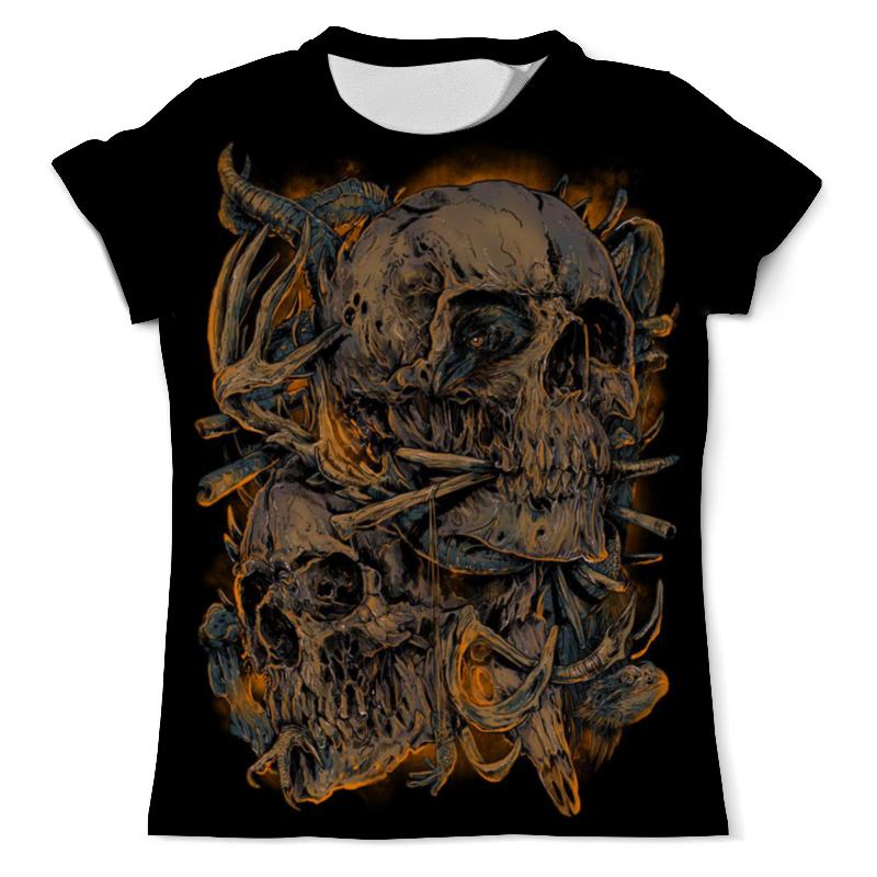 Футболка с полной запечаткой (мужская) Printio Skull art футболка с полной запечаткой мужская printio skull triangle
