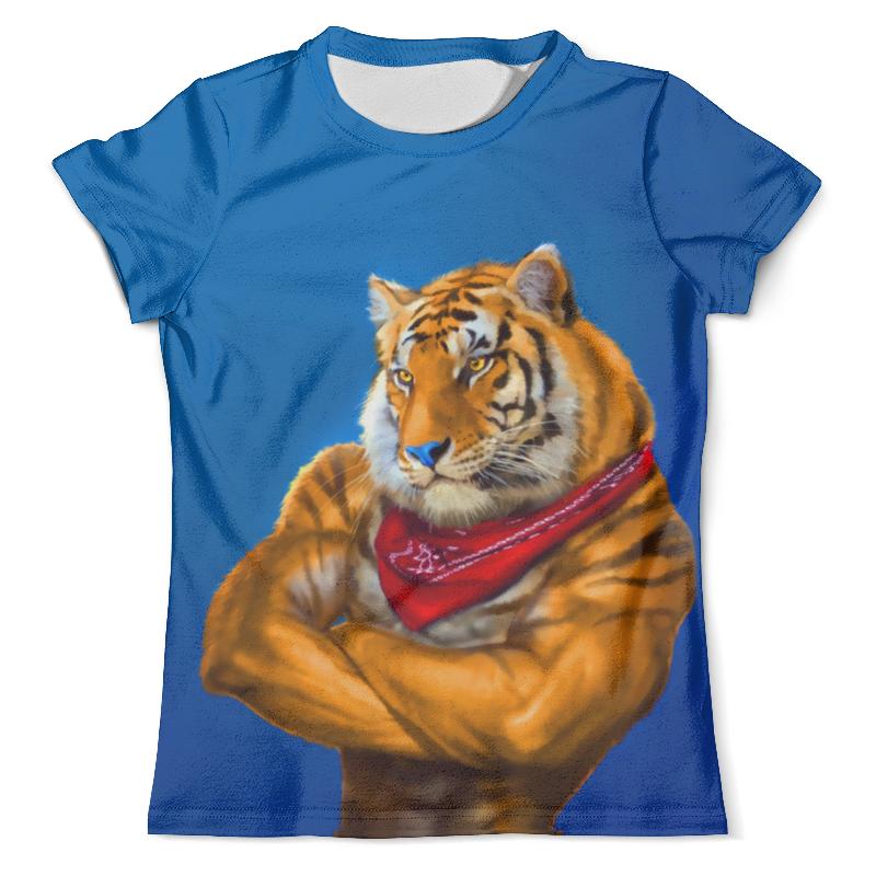Футболка с полной запечаткой (мужская) Printio Tony lion футболка с полной запечаткой мужская printio tony montana scarface 1