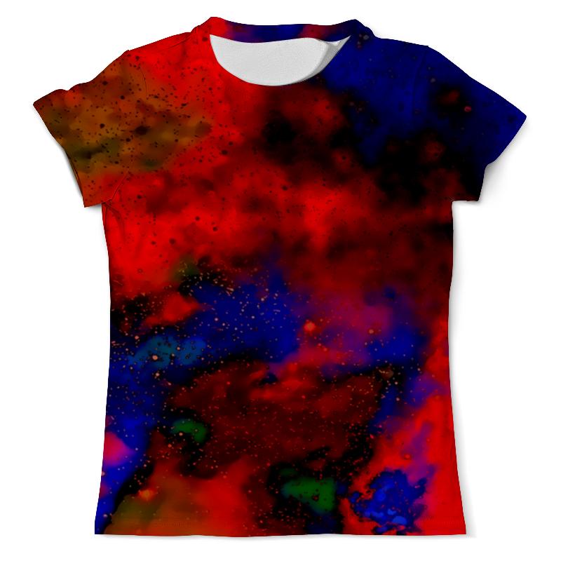 Футболка с полной запечаткой (мужская) Printio Красно-синий узор футболка с полной запечаткой для девочек printio красно белый узор