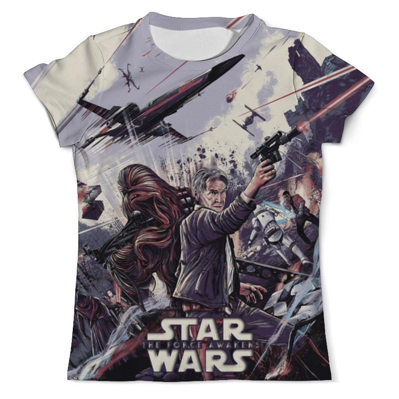 Футболка с полной запечаткой (мужская) Printio The force awakens - star wars