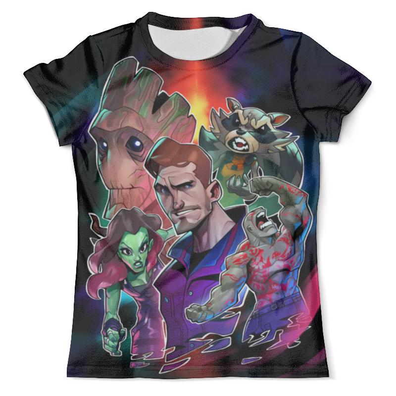 Футболка с полной запечаткой (мужская) Printio Guardians of the galaxy футболка с полной запечаткой мужская printio the summoning sisters