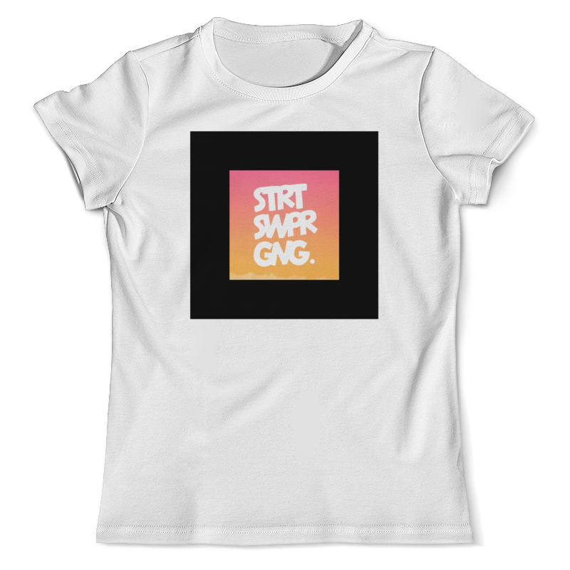 Printio Strt swpr gng. от ssg! футболка с полной запечаткой женская printio white stvr от ssg