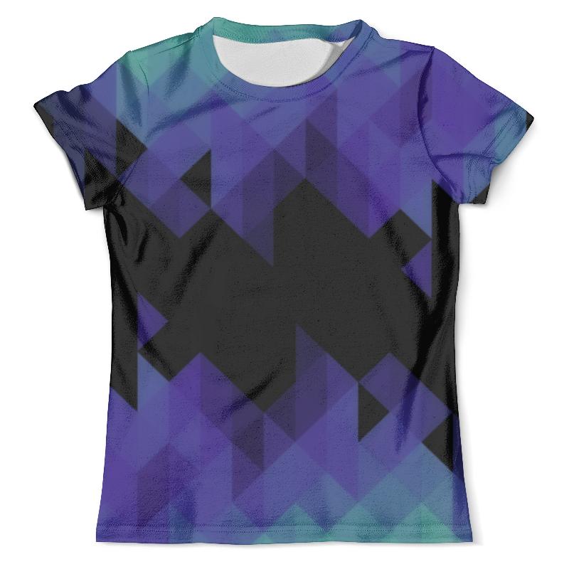 Футболка с полной запечаткой (мужская) Printio Triangle triangle watercolor memo sticker 30sheets