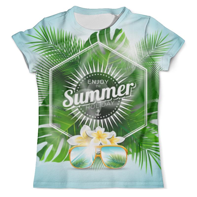Футболка с полной запечаткой (мужская) Printio Летнее время футболка с полной запечаткой мужская printio летнее солнцестояние эдвард роберт хьюз