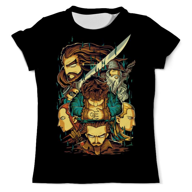 Printio Хоббит (the hobbit ) футболка с полной запечаткой для мальчиков printio hobbit
