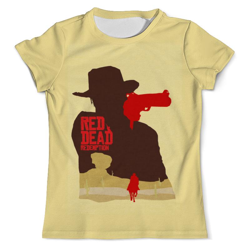 Футболка с полной запечаткой (мужская) Printio Red dead redemtion game детская футболка классическая унисекс printio red dead redemtion game