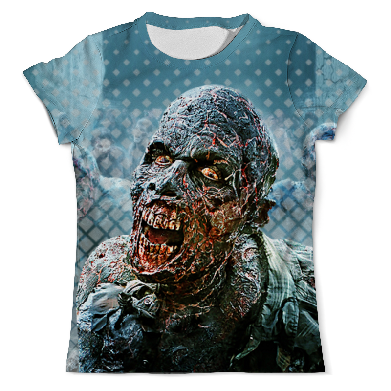 Футболка с полной запечаткой (мужская) Printio Zombie design футболка с полной запечаткой мужская printio zombie ice