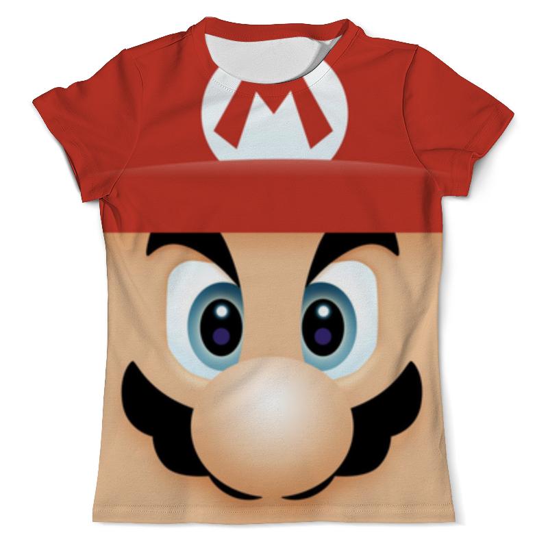Футболка с полной запечаткой (мужская) Printio Марио 3d футболка с полной запечаткой мужская printio марио mario