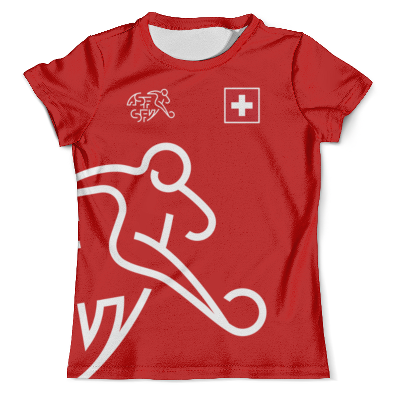 Футболка с полной запечаткой (мужская) Printio Сборная швейцарии косметика из швейцарии интернет магазин