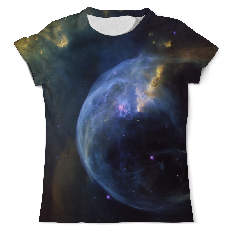 Футболка с полной запечаткой (мужская) Printio The bubble nebula nebula