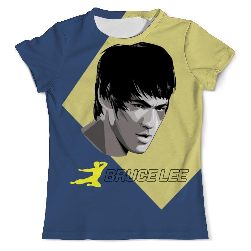 Футболка с полной запечаткой (мужская) Printio Bruce lee (1) футболка с полной запечаткой для девочек printio bruce willis