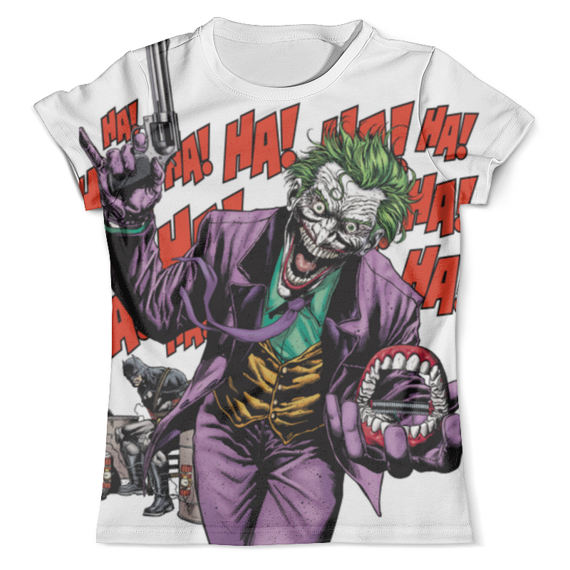Футболка с полной запечаткой (мужская) Printio Джокер футболка с полной запечаткой мужская printio фрактальная эзотерика мандалы