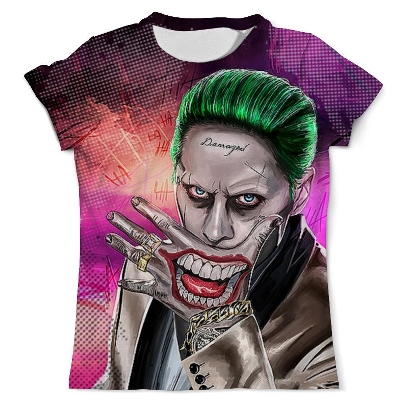 Футболка с полной запечаткой (мужская) Printio The joker design(suicide squad) футболка с полной запечаткой для девочек printio suicide squad joker