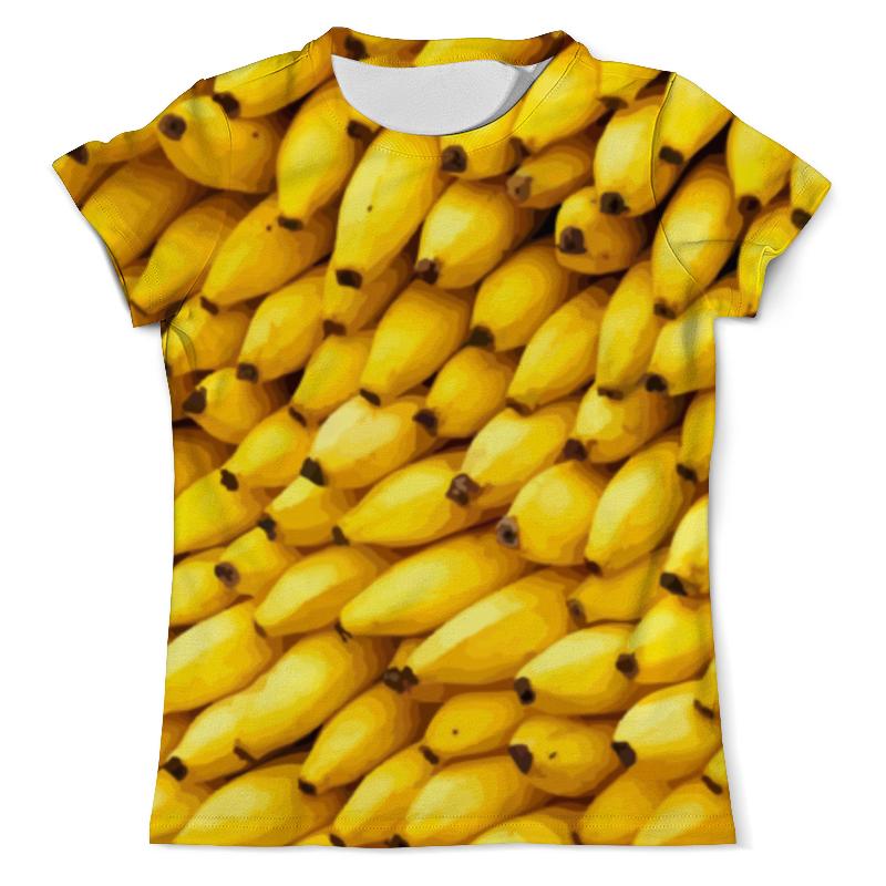 Футболка с полной запечаткой (мужская) Printio Бананы 3d мужская одежда для спорта