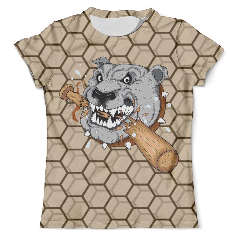 Футболка с полной запечаткой (мужская) Printio Злой бульдог футболка с полной запечаткой мужская printio злой песик