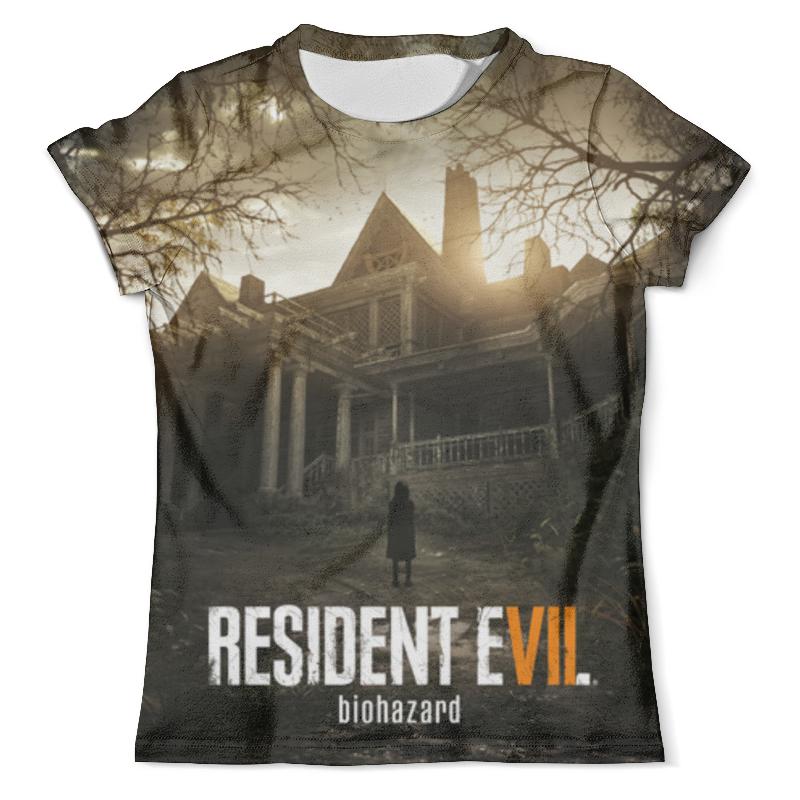 Футболка с полной запечаткой (мужская) Printio Resident evil 7 видеоигра для pc resident evil 7 biohazard