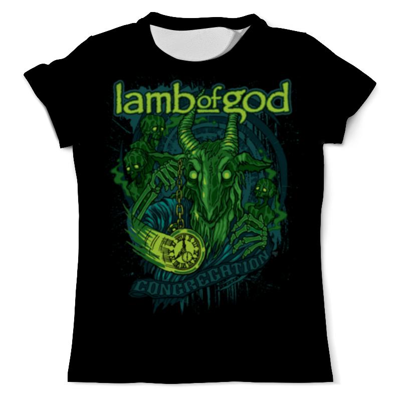 Футболка с полной запечаткой (мужская) Printio Lamb of god lamb of god lamb of god sacrament