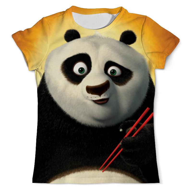 Футболка с полной запечаткой (мужская) Printio Кунг-фу панда