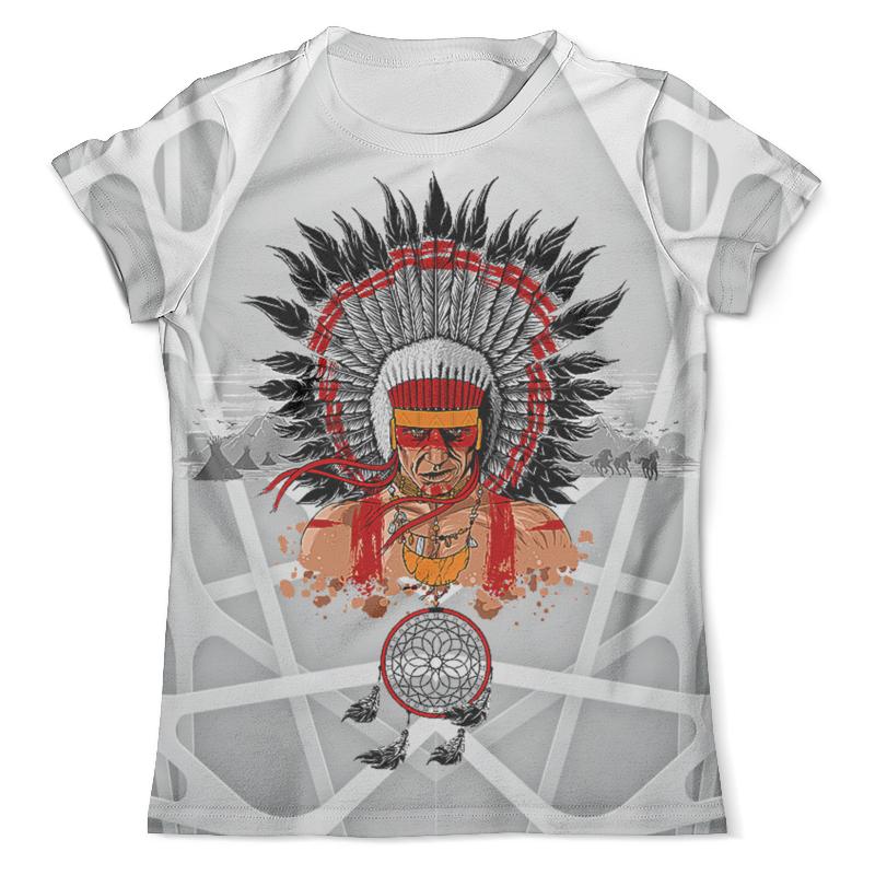 Футболка с полной запечаткой (мужская) Printio Indian design