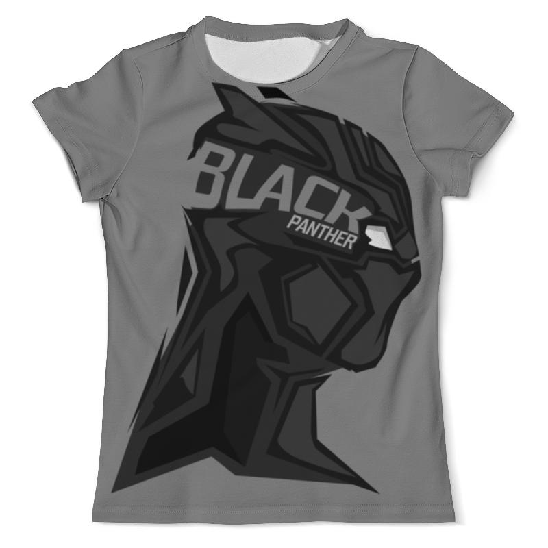 Футболка с полной запечаткой (мужская) Printio Черная пантера футболка черная