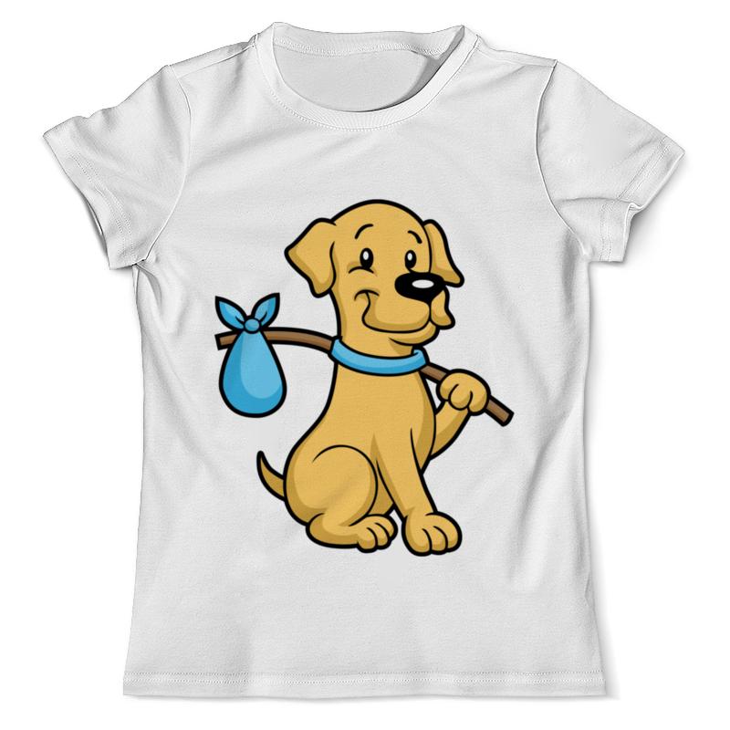 Футболка с полной запечаткой (мужская) Printio Пёс-бродяга футболка с полной запечаткой для девочек printio пёс бродяга