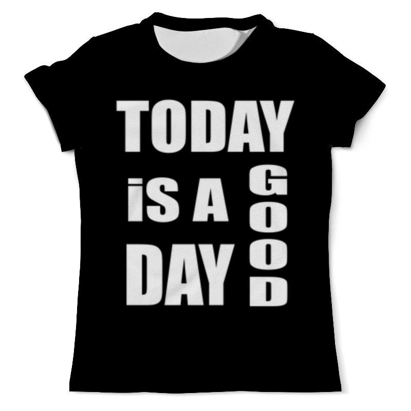 Printio Хороший день футболка с полной запечаткой мужская printio о русском языке