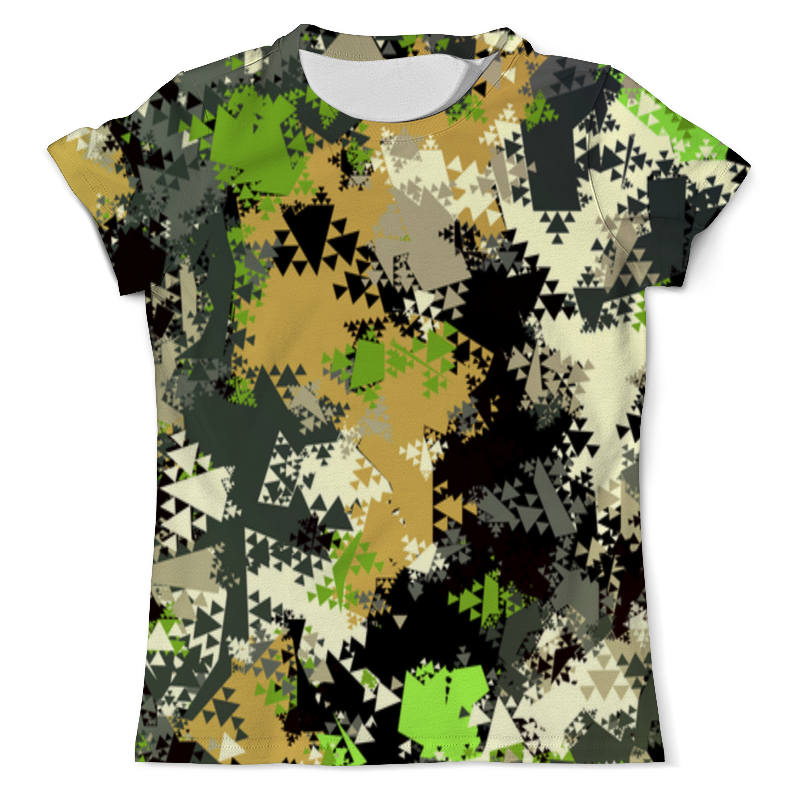 Футболка с полной запечаткой (мужская) Printio Camouflage triangle xintown camouflage winter long sleeved