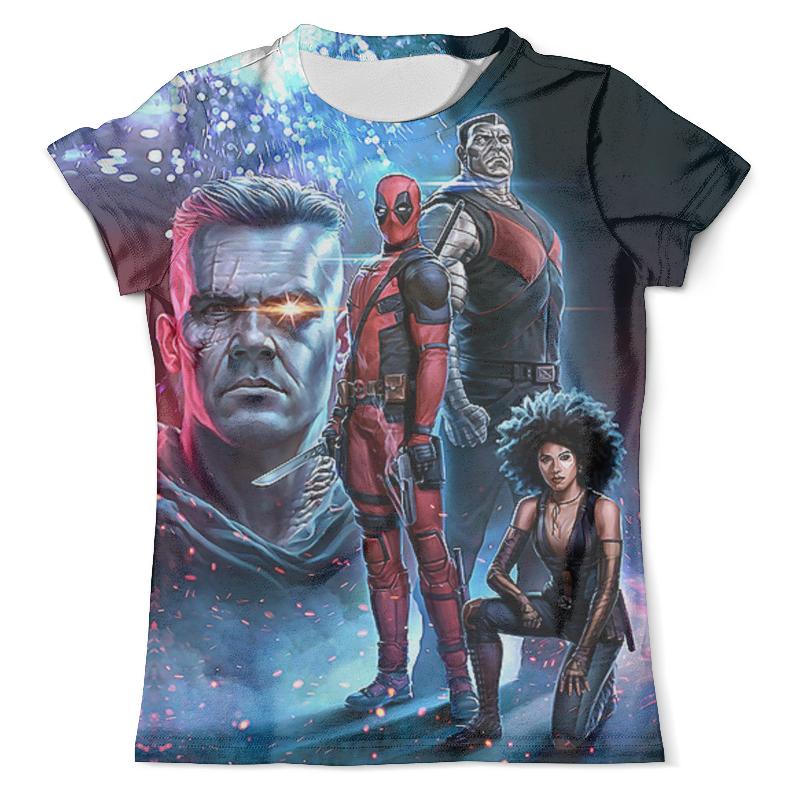 Фото - Printio Deadpool 2 футболка с полной запечаткой мужская printio deadpool joke