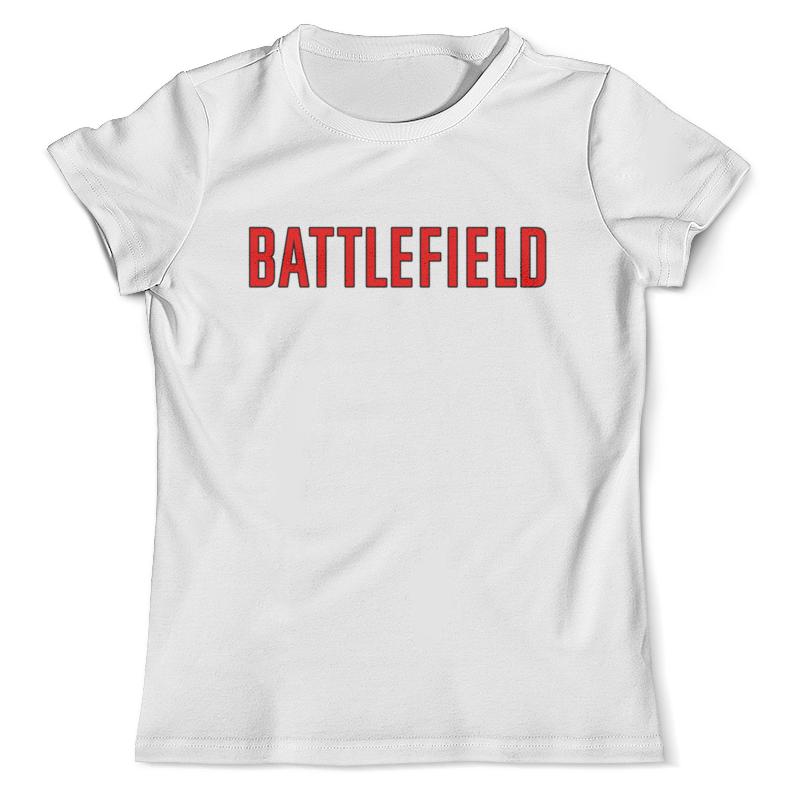 Футболка с полной запечаткой (мужская) Printio Battlefield футболка с полной запечаткой для мальчиков printio battlefield 1
