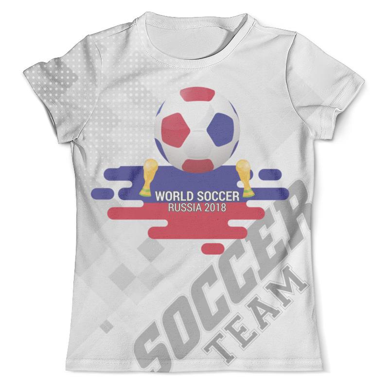 Футболка с полной запечаткой (мужская) Printio Soccer design футболка с полной запечаткой для мальчиков printio soccer design