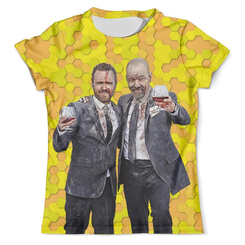 Фото - Футболка с полной запечаткой (мужская) Printio Breaking bad - heisenberg футболка с полной запечаткой мужская printio heisenberg low poly