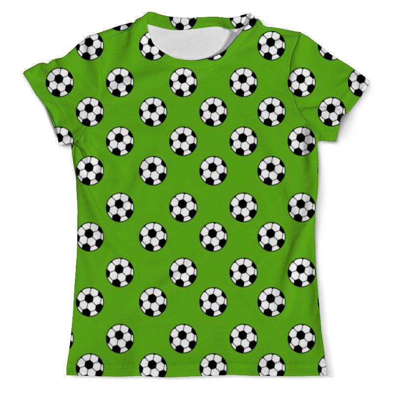 Printio Футбольные мячи футболка с полной запечаткой мужская printio я не мгу больше учиться