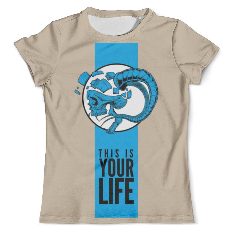 Футболка с полной запечаткой (мужская) Printio This is your life футболка с полной запечаткой мужская printio love is