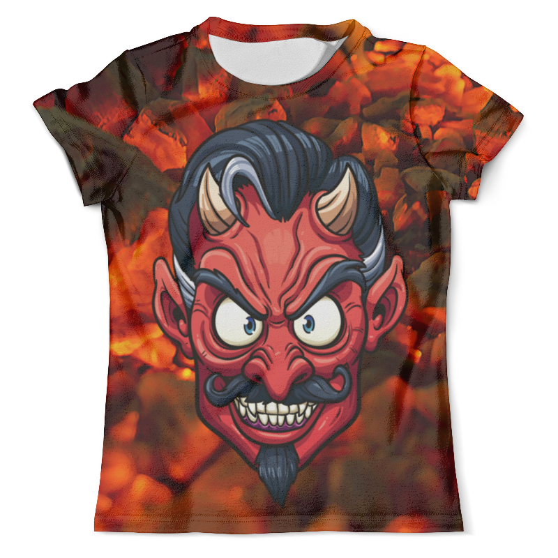 Printio Devil футболка с полной запечаткой мужская printio devil in darkness