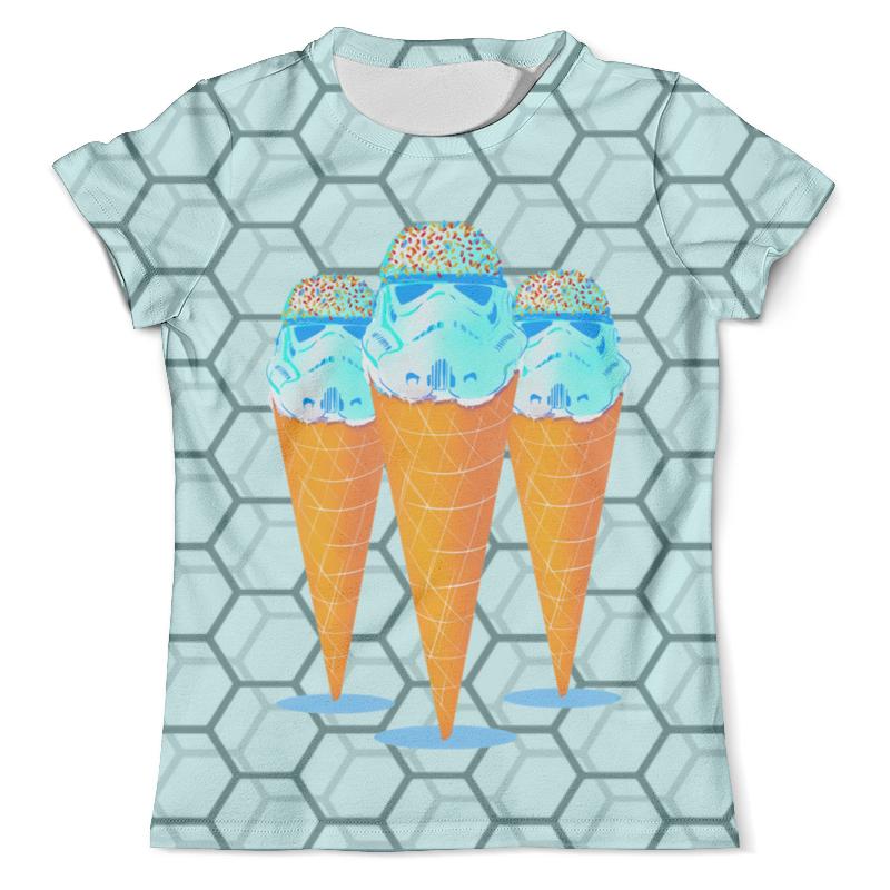 Футболка с полной запечаткой (мужская) Printio Мороженое футболка print bar мороженое с глазом
