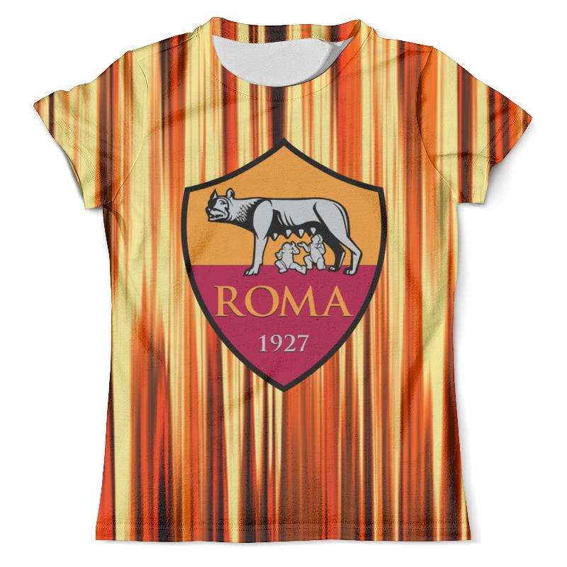 Футболка с полной запечаткой (мужская) Printio Fc roma bologna fc as roma