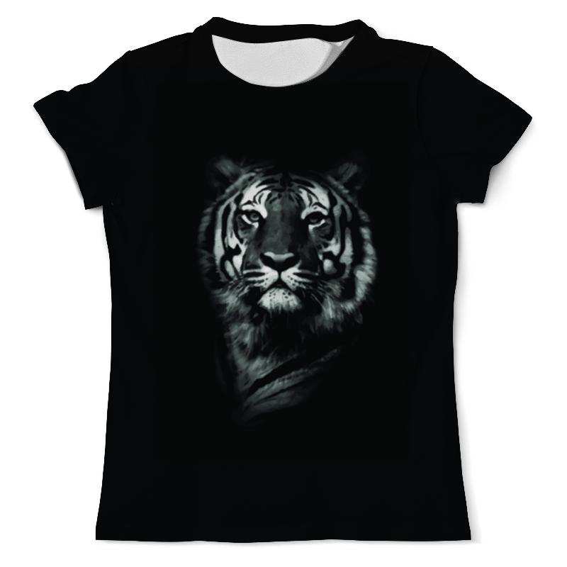 Футболка с полной запечаткой (мужская) Printio Белый тигр футболка с полной запечаткой мужская printio амурский тигр
